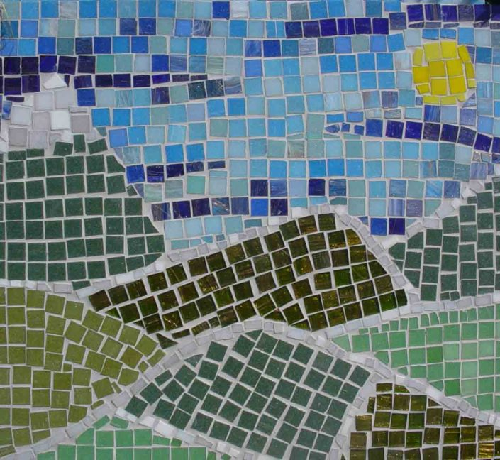 WORKSHOP-CREATING-ARTS-in-OXFORDSHIRE-Kids-Adult-Childrens-Youth-mosaic-workshops installation