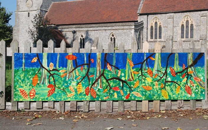 WORKSHOP-CREATING-ARTS-in-OXFORDSHIRE-BERKSHIRE--Kids-Adult-Childrens-Youth-mural-workshops installation